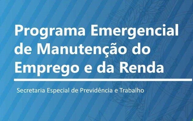 MP nº 936 cria o Programa Emergencial de Manutenção do Emprego e da Renda